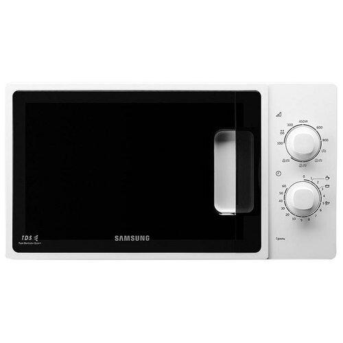 Микроволновая печь Samsung ME81ARW/BW, 23л, механическое управление, белая, цена за штуку, 311710