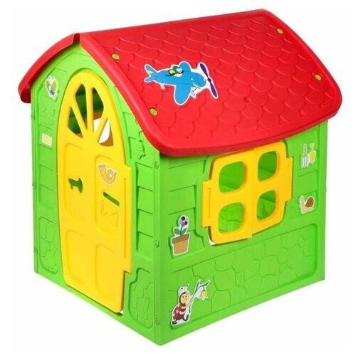 Купить Детский игровой домик Mochtoys цвет зеленый, Игровые домики и палатки