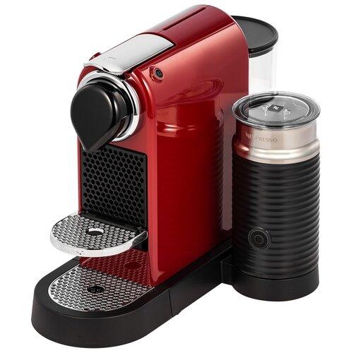 Кофемашина Nespresso C123 CitizMilk, красный