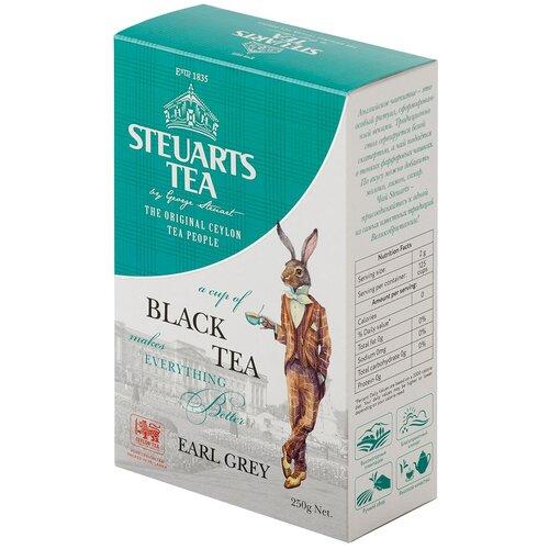 Чай черный Steuarts Tea Earl Grey, 250 г чай черный beta tea earl grey 250 г