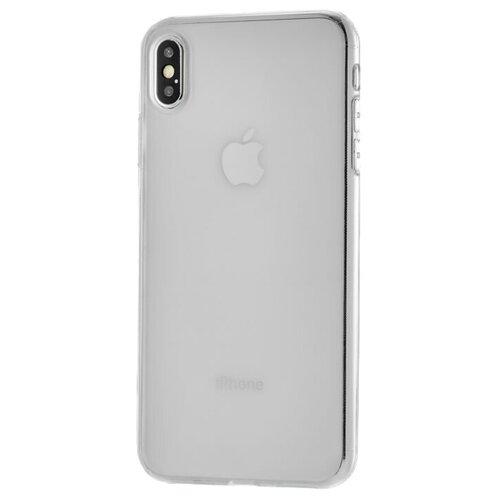 Фото - Чехол-накладка uBear Tone для Apple iPhone Xs Max transparent чехол накладка ubear soft tone для apple iphone 6 iphone 6s прозрачный