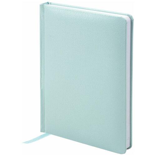 Купить Ежедневник BRAUBERG Profile недатированный, А6, 136 листов, мятный, Ежедневники