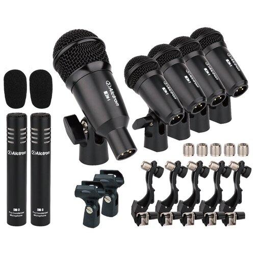 Комплект микрофонов Alctron T8400, черный