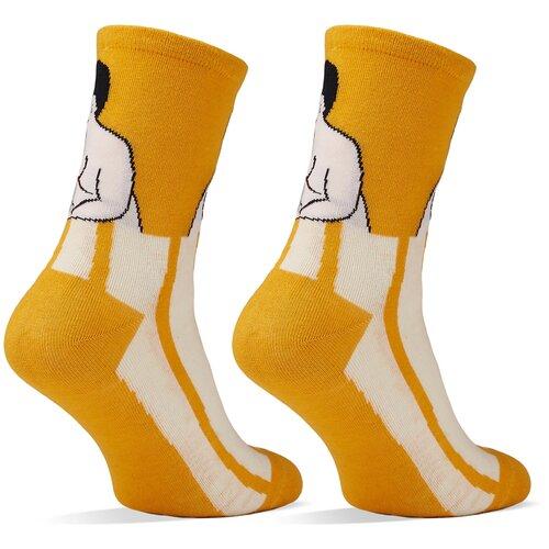 Носки Красная Жара (желтый; черный; белый) 36-41