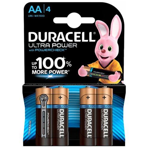 Фото - Батарейки Duracell AA Ultra Power, 4 шт. батарейки duracell размера aa 60 шт