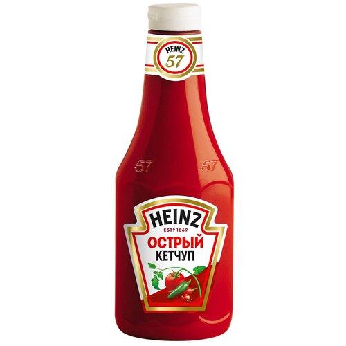 Кетчуп Heinz Острый, пластиковая бутылка 1000 г
