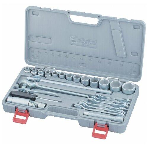 Набор автомобильных инструментов НИЗ Автомобилист 13452, 26 предм., серый