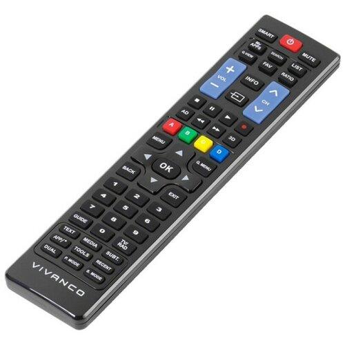 Фото - Пульт ДУ Vivanco RR 220 для все модели телевизоров Samsung начиная с 2000 года, черный кронштейн для телевизоров vivanco 37980