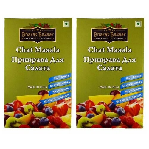 Фото - Приправа для салата Bharat Bazaar (2 шт. по 100 г) приправа nano sri самбар масала 2 шт по 100 г