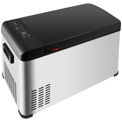 Автомобильный холодильник Libhof Q-22 серый/черный