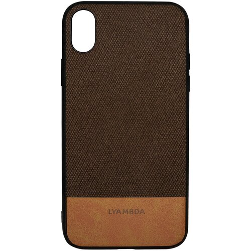 Чехол LYAMBDA CALYPSO для iPhone XS Max (LA03-CL-XSM-BR) Brown чехол клип кейс lyambda calypso для iphone xs max la03 cl xsm br brown
