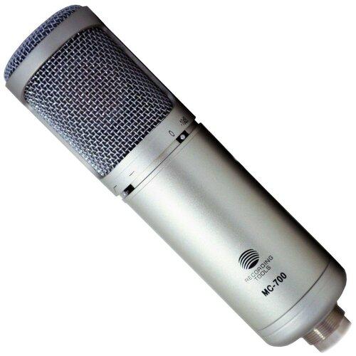 Микрофон Recording Tools MC-700, серебристый