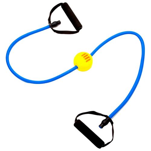 Фото - Эспандер универсальный BRADEX Профи болл 140 х 14 см голубой/желтый/черный эспандер универсальный bradex профи болл 140 х 14 см синий
