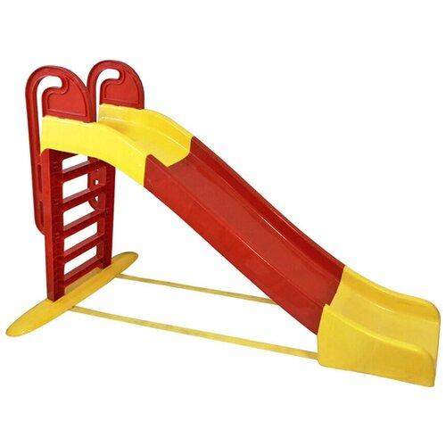 Купить Горка Doloni 014550, желтый/красный, Игровые и спортивные комплексы и горки
