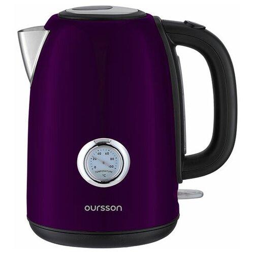 Фото - Электрический чайник Oursson EK1752M/SP весы oursson ks0501gd sp