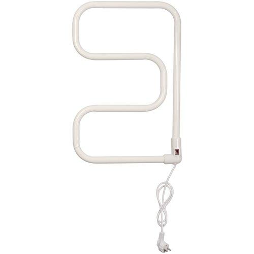 Электрический полотенцесушитель Domoterm Е-образный DMT 104-25 40x60 EK R белый