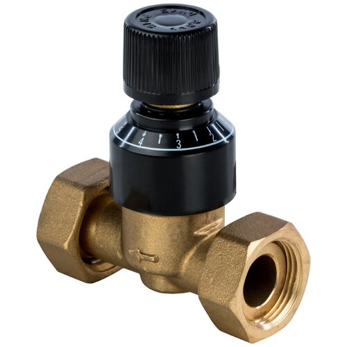 Фото - Балансировочный клапан ручной STOUT SDG-0019-000005 муфтовый (ВР/ВР) Ду 20 (3/4) запорный клапан зубр ширефит 51571 20 муфтовый вр вр ду 20 3 4