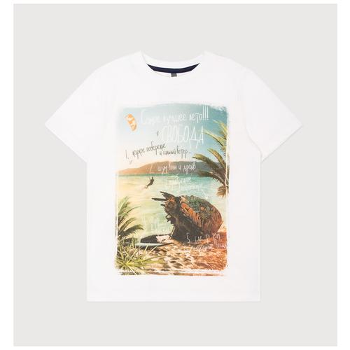 Фото - Футболка crockid, размер 122, сахар футболка crockid размер 122 леденец