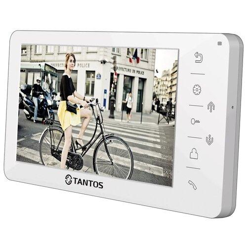 Домофон (переговорное устройство) TANTOS Amelie White белый (домофон) домофон переговорное устройство tantos lilu sd белый домофон
