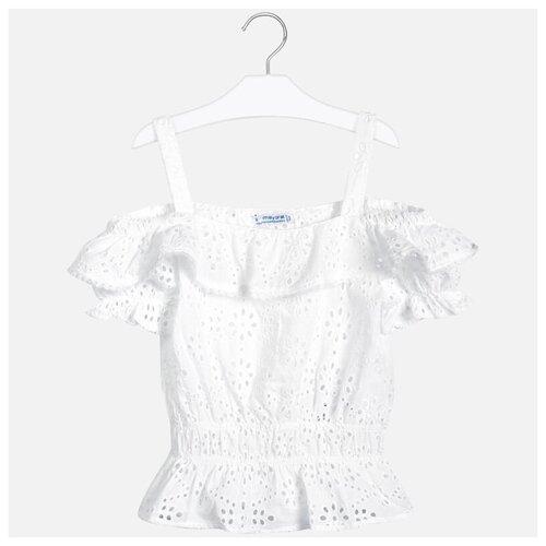 Блузка Mayoral размер 12(152), белый