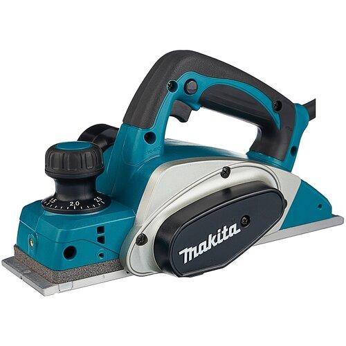 Сетевой электрорубанок Makita KP0800, 620 Вт синий/черный/серый сетевой электрорубанок makita 1911b 900 вт 900 вт синий
