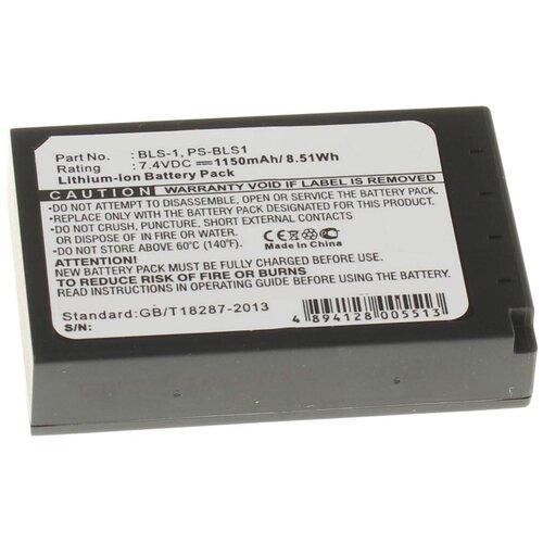 Фото - Аккумулятор iBatt iB-U1-F205 1150mAh для Olympus E-420, Pen E-PL1, E-620, Pen E-P3, Pen E-P1, Pen E-P2, E-410 Evolt, E-400, E-450, e e first lensman
