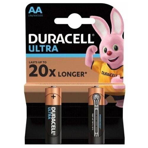 Фото - Батарейка Duracell Ultra Power AA/LR6, 2 шт. батарейка energizer max plus aa 4 шт