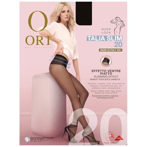 Колготки ORI Talia Slim, 20 den, размер 4-L, nero (черный)