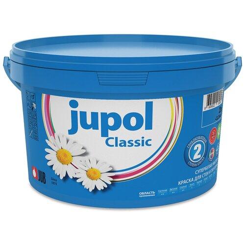 Краска акриловая JUB Classic матовая супербелая 2 л