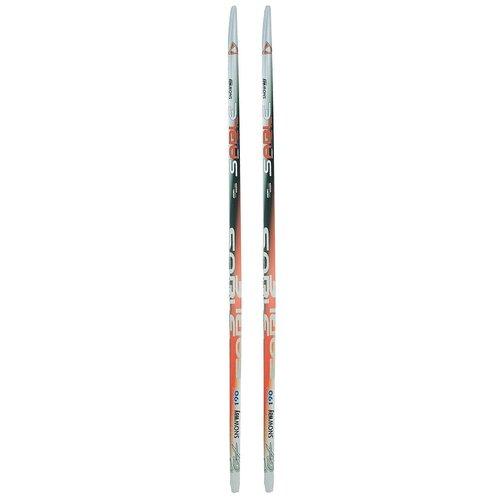 Беговые лыжи STC Sable Snowway (Step) красный/серый 190 см