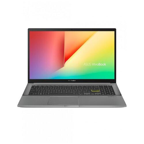 "Ноутбук ASUS VivoBook S15 S533EQ-BN141T (Intel Core i7 1165G7/15.6""/1920x1080/16 ГБ/512 ГБ SSD/NVIDIA GeForce MX350 2 ГБ/Windows 10 Home) 90NB0SE3-M02410 черный/серый"
