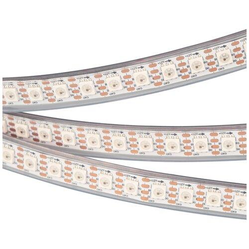 Лента SPI-5000P-RAM 12V RGB (5060, 100 LED/m, x1, AM) (arlight, Закрытый, IP66)