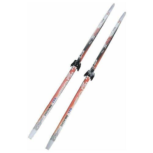 Лыжный комплект 75 мм 205 (лыжи + крепления, без палок), Sable snowway