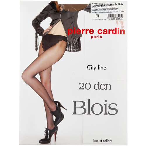 Колготки Pierre Cardin Blois, City Line, 20 den, размер II-S, visone (бежевый) колготки pierre cardin laval 40 den размер ii s visone бежевый