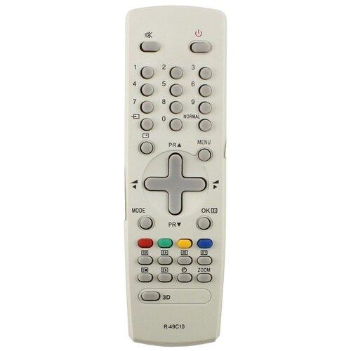 Фото - Пульт ДУ Huayu R-49C10 для телевизоров Daewoo DTM-2930/KR2930/KR29M7/KR29S7, серый пульт huayu для daewoo r 48a01