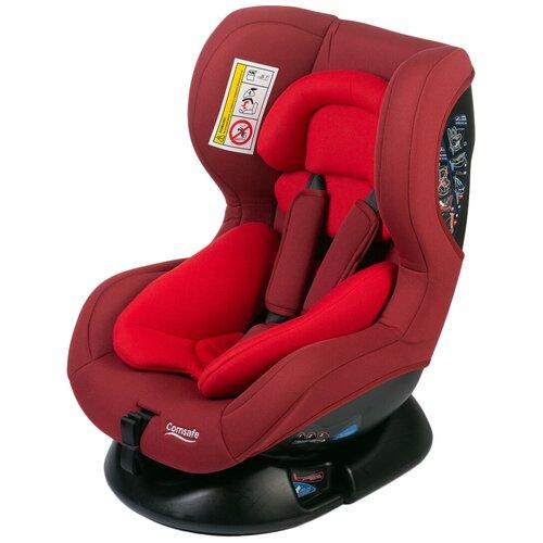 Автокресло группа 0/1 (до 18 кг) Comsafe StartGuard, red автокресло comsafe masterguard cs004 black
