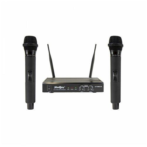 Madboy U-TUBE 20 - комплект беспроводных микрофонов для караоке