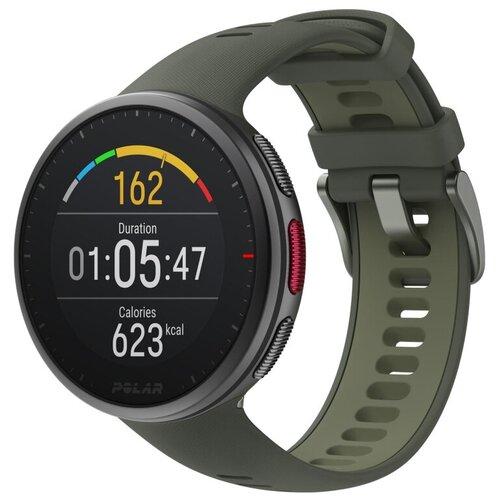 Умные часы POLAR Vantage V2 зеленые (окружность запястья 145–215 мм)