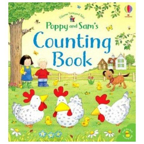 Купить Poppy and Sam's: Counting Book, Usborne, Детская художественная литература