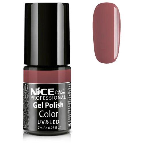 Купить Гель-лак для ногтей Nice View UV&LED, 7 мл, C-10 бежево-коралловый