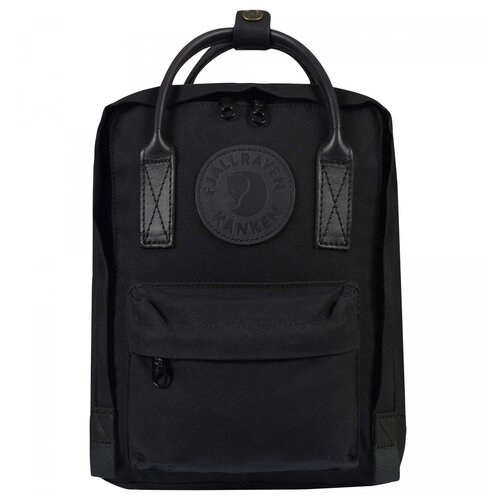 Фото - Рюкзак Fjallraven Kanken No.2 Mini Black Edition рюкзак fjallraven kånken no 2 laptop 15 black edition 18 черный