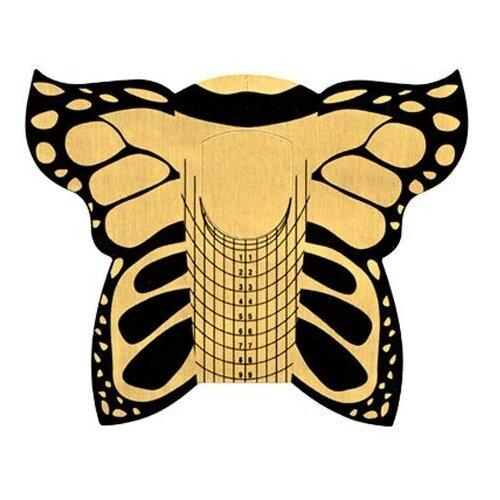 Купить IRISK PROFESSIONAL Irisk, формы металлизированные Бабочка, 100шт