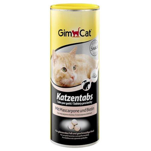 Gimborn / GimCat витаминизированные лакомства для кошек Табс с маскарпоне и биотином 425 г (около 708 шт)