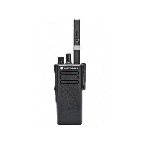 Рация MOTOROLA DP4400 Цифровая. Портативная радиостанция с аккумулятором и зарядным устройством. VHF рация
