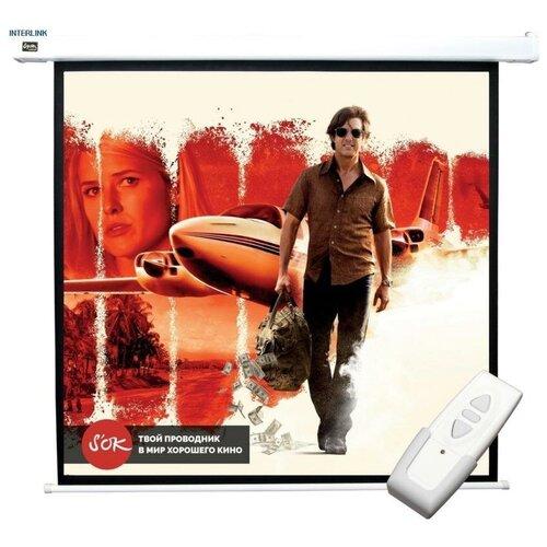 Фото - Sakura Cinema Motoscreen 127x127 MW + (SCPSM-127X127) экран sakura cinema s ok 183x183cm 1 1 scpsm 183x183 gr