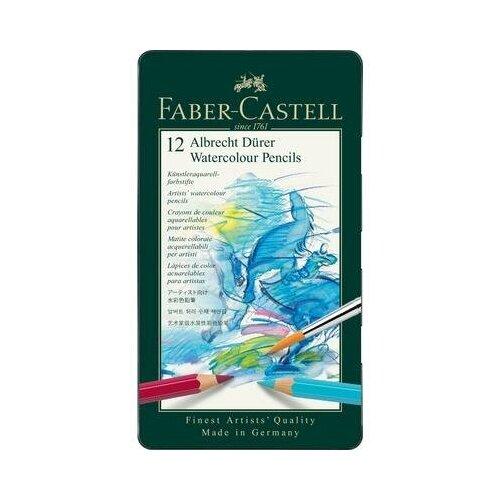 Купить Карандаши акварельные Faber-Castell Albrecht Durer 12 цветов шестигранные 1 шт., Цветные карандаши