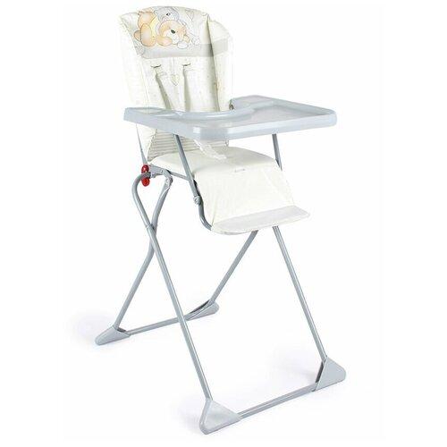 стул для кормления globex космик new белый Стул для кормления Globex Компакт коллекция Мишки, серый