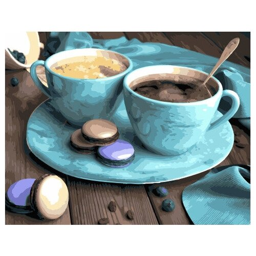 Картина по номерам GX 30350 Кофе и сладости 40*50 картина по номерам gx 9871 уточки и лодочка 40 50