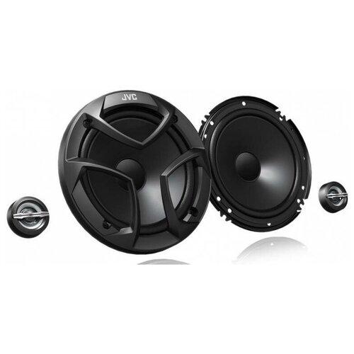 Колонки автомобильные JVC CS-JS600, 300 Вт, 92 дБ, 4 Ом, 16 см (6 дюйм), компонентные, двухполосные