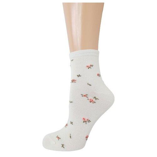 Носки женские Гамма С780, Кремовый, 23-25 (размер обуви 36-40)